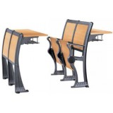 ANC Series 642036B EDU middle row chair w/fixed table at back