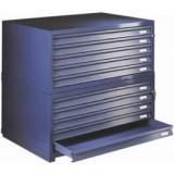 Horizontal Plan File Cabinets 920D x 1326W x 359H - 4 drawers 50mm