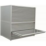 Horizontal  Cabinets 1126W x 960D x 560H 12 drawers 25H