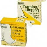 Linen tape (Gummed),  25mm x 9M (per roll)