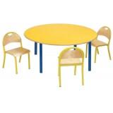 ANC  PreSchool Series Bambino SL circular nr2,3 beech top table