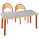 ANC  PreSchool Series Bambino SL rectangular nr2,3 beech top table