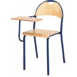 ANC  Classroom Series IT BOLEK CHAIR  metal/ply w/fixed tablet