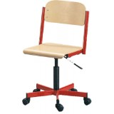 ANC  Classroom Series IT JUNIOR SWIVEL CHAIR  /lift gas / wheels