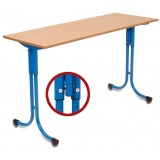 ANC  Classroom Series IT AS PLUS Table 3-5/5-7 double 1300x 500
