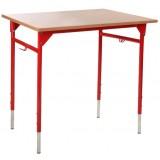"ANC  Classroom Series IT ZAK PLUS ""B"" Table single, sizes 3-5 or 5-7"