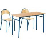 ANC  Classroom Series IT ZAK PLUS Table double