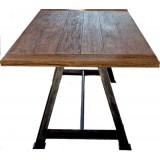 ANC Wood-Metal Indu Series Dinning Table 200/100 Alpha Leg