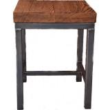 ANC Wood-Metal Indu Series Stool