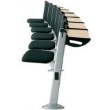 ANC-LA Edu Series E3000 tipup table Upholstered