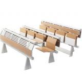 ANC-LA Edu Series Runner S fixed table Beech Ply