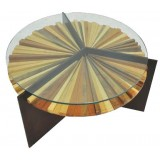 ANC Wood slab series Coffee table MANDALA L6