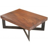 ANC Wood slab series Coffee table Tamburil SQRM1