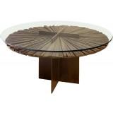ANC Wood slab series Dinning table Mandala z1