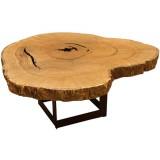 ANC Wood slab series Dinning table Pequi MB1