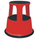 ANC Library Stool Red