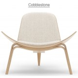HM Series Shell chair CH07 Cobblestone