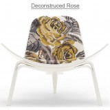 HM Series Shell chair CH07 Deconstructed Rose