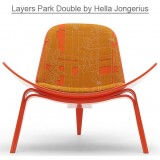 HM Series Shell chair CH07 Layers Park Double