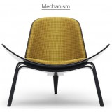 HM Series Shell chair CH07 Mechanism