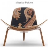 HM Series Shell chair CH07 Massive Paisley