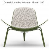 HM Series Shell chair CH07 Orakelblume