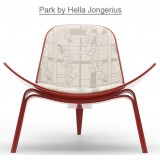 HM Series Shell chair CH07 Park