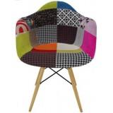 Eames DAW chair Patchwork