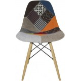 Eames DSW chair Patchwork