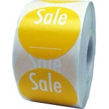 """Anc Series Labels / Round Stickers """"Sale"""" (roll of 500)"""