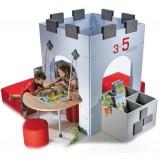 ΣΕΙΡΑ BT READING CASTLE model 7 - Αρθρωτή κατασκευή με βιβλιοθήκη σε &