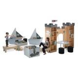 ΣΕΙΡΑ BT READING PIRATE BAY model 2 - Αρθρωτή κατασκευή με βιβλιοθήκη σ&epsilo
