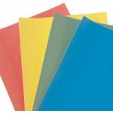 EBL Series Unprinted spine labels, blue