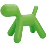 EBL Series Puppy, medium, green, 2 pcs.