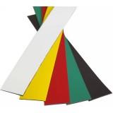 EBL Series Magnetic shelf label black 10m roll
