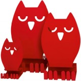 EBL Series Owl III display, red