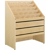 EBL Series CD-cabinet, Malmoe, birch