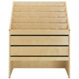 EBL Series CD-cabinet Malmoe, beech