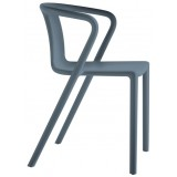 EBL Series Air armchair, anthracite grey