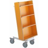 EBL Series Book trolley Halland+, orange