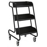 EBL Series Book trolley Larry, black/black