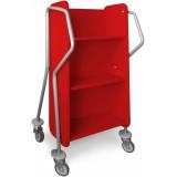 EBL Series Book trolley Mini-Oblique, red