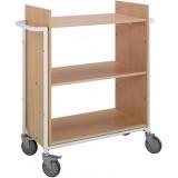 EBL Series Book trolley Ven, beech/white