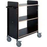 EBL Series Book trolley Ven+, black/b