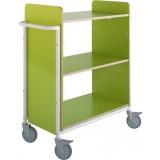 EBL Series Book trolley Ven+, green/white
