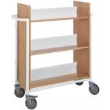 EBL Series Book trolley Oland, white