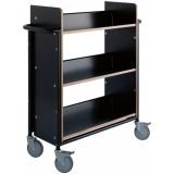 EBL Series Book trolley Oland Plus, black