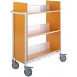 EBL Series Book trolley Oland Plus, Orange