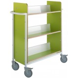 EBL Series Book trolley Oland Plus, Green
