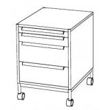 EBL Softline Desk system Pedestal